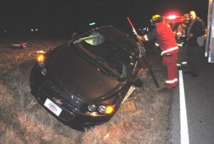Two Involved in Friday Night Crash on Allen Ferry Road