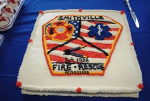 The Smithville Volunteer Fire Dept hosted a new fire truck dedication, 80th anniversary observance, and open house