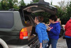Drive Thru Mobile Food Pantry Set for Saturday