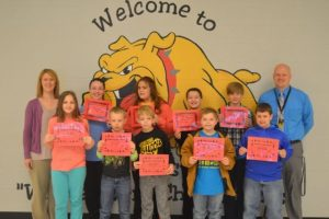 DeKalb West Students of the Month