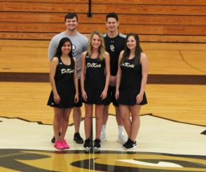 The Seniors are: Jhoany Gaspar, Kayla Belk, and Catherine Caplinger, then Seth and Ethan Cantrell