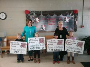 Smithville Elementary Recognizes Students of the Month