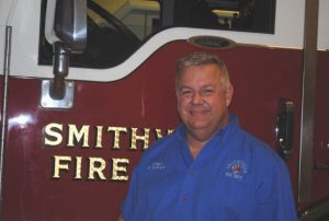 Smithville Fire Chief Charlie Parker
