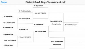 DCHS Basketball Teams to Begin District Tournament Play