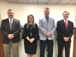 DeKalb GOP Nominees for August 2 General Election: Sheriff Patrick Ray, Susan Martin for Circuit Court Clerk, Trustee Sean Driver, and Danny Hale for Road Supervisor
