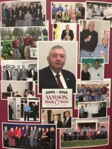 Gentry Barnes Retiring from Wilson Bank & Trust