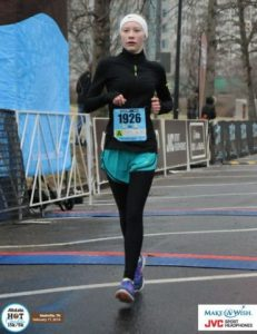 Megan Cantrell of Smithville Wins Nashville Race for Make-A-Wish in All State Hot Chocolate 15k/5k