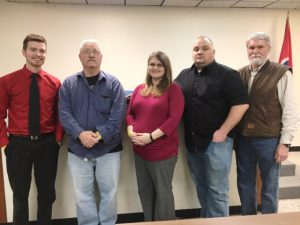 DeKalb GOP Nominees for County Commission: Matt Adcock in 6th district, Incumbent Jerry Adcock in 5th district, Renee Steff in 3rd district, Greg Matthews in 4th district, and Tom Chandler in 1st district. NOT PICTURED HERE Sabrina Farler in 2nd district, and Bruce Malone in 7th district