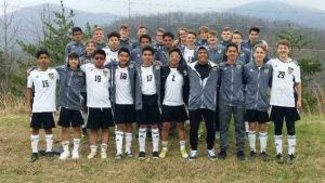 DCHS Men's Soccer Team Competes in Smoky Mountain Cup Tournament