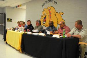 Board of Education Met Thursday Night at DeKalb West School