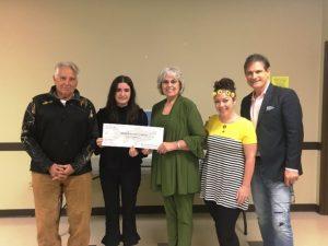 Carl Massaro; Ashley Anderson, Lisa Cripps, DeKalb Prevention Coalition Coordinator; Norene Puckett , DPC Community Outreach Liaison; and Stephen McCord