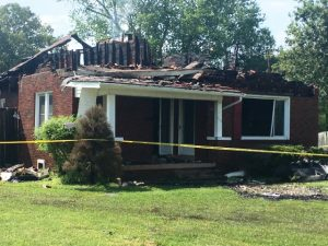 South College Street Home Destroyed by Fire Saturday