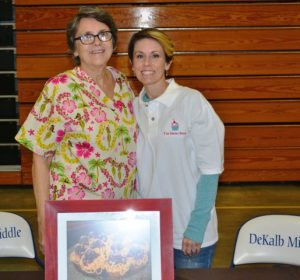 Joanie and Shelli Williams of the Sweet Shop during Career Day