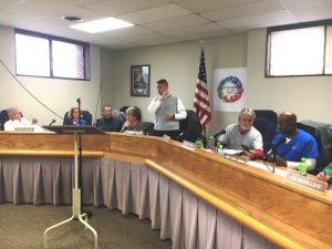 Director of Schools and Board of Education (Photo from Previous Meeting)