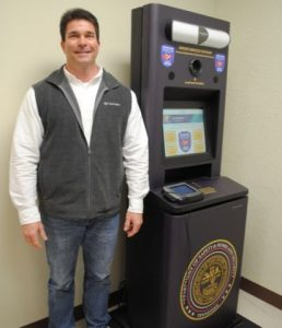 County Clerk James L. (Jimmy) Poss Says Self-Service Driver License Kiosk Growing in Popularity