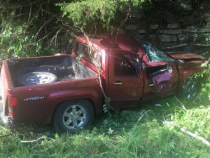 The driver of this GMC Canyon,Morris D Carr of Baxter lost his life in crash on Medley-Amonette Road