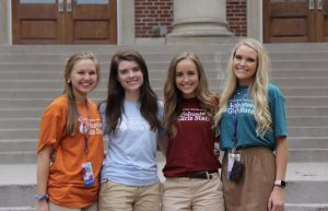 Sarah Anne Colwell, Madi Cantrell, Macy Hedge, and Addison Oakley