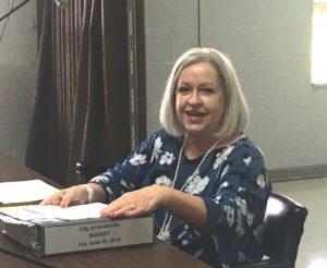Janice Plemmons-Jackson, the city's financial advisor
