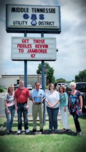 """Most Original -Middle Tennessee Natural Gas, """"Get Those Fiddles Revvin To Jamboree 47"""""""