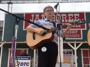 Flat Top Guitar: First Place- Joshua Palmore of Springfield (ALSO NAMED BEST OVERALL INSTRUMENTAL ENTERTAINER)