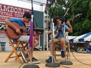 Five String Banjo: First Place- Uma Peters of Nashville