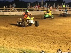 ATV and Motorcycle Racing at DeKalb County Fair