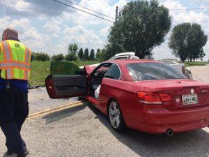 Crash Scene on McMinnville Highway