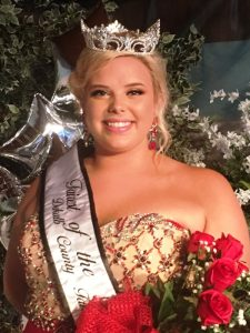 Abigail Hope Taylor Crowned 2018 Fairest of the Fair