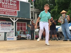 Buck Dancing: First Place- Jacob Fennell of Dickson