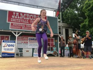 Clogging: First Place- Arlee Fowlkes of Hurricane Mills