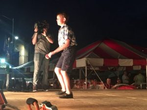 Junior Old-Time Appalachian Flatfoot Dance (Ages up to 39): First Place- Jacob Fennell of Dickson