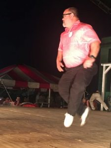 Senior Buck Dancing (Ages 40 & Over): First Place- Danny Campbell of Murfreesboro