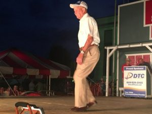 Senior Old-Time Appalachian Flatfoot Dance (Ages 40 & Over): First Place- Tommie Scruggs, Jr. of Hartsville