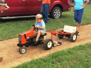 Kiddie Tractor Pull