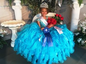Lakelyn Brooke Nelson Wins Miss Princess Pageant