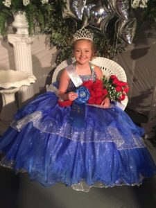 Addison Isabella Kyle Crowned Miss Sweetheart