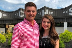 Tanner Poss and Madi Cantrell named Mr. and Miss DCHS