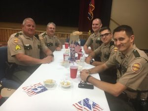 The Smithville First Assembly of God held a recognition dinner Friday night at the county complex to pay tribute to first responders and others who protect and serve our community including members of the Tennessee Highway Patrol