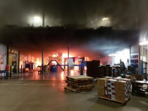 Fire Destroys Entire Production Line at Foutch Industries