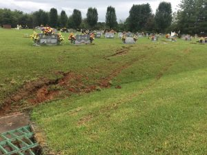 Crash Causes Damage to Gravestones at DeKalb Cemetery