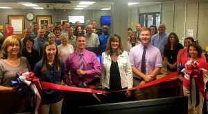 Ribbon Cutting held at DCHS for new makerspace in the media center/library funded by a $10,000 grant
