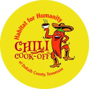 The 15th Annual Habitat for Humanity Chili Cook-Off and Bake Sale will be relocated to the County Complex auditorium Friday, October 26 from 10:30 a.m. until 1 p.m. due to forecasts of rain