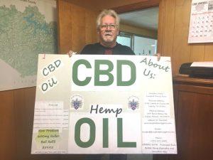 David Lunsford of Liberty begins CBD Hemp Oil Production