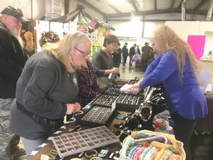 More than 30 vendors and a large crowd of shoppers participated in the Paislee's Foundation Craft & Home Show Saturday