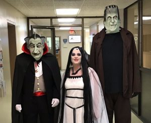 "Smithville-DeKalb County Chamber of Commerce ""Best Halloween Costumes: 1st Place– Smithville City Hall The Munsters in 2018"