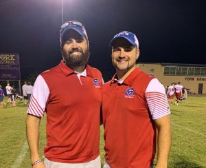 Saints Coaches Justin and Hunter Poteete