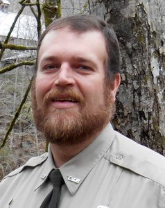 Ranger Brad Halfacre has been named as the new Park Manager at Edgar Evins State Park