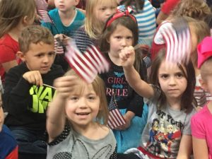 Smithville Elementary Students Honor Local Veterans Thursday Morning