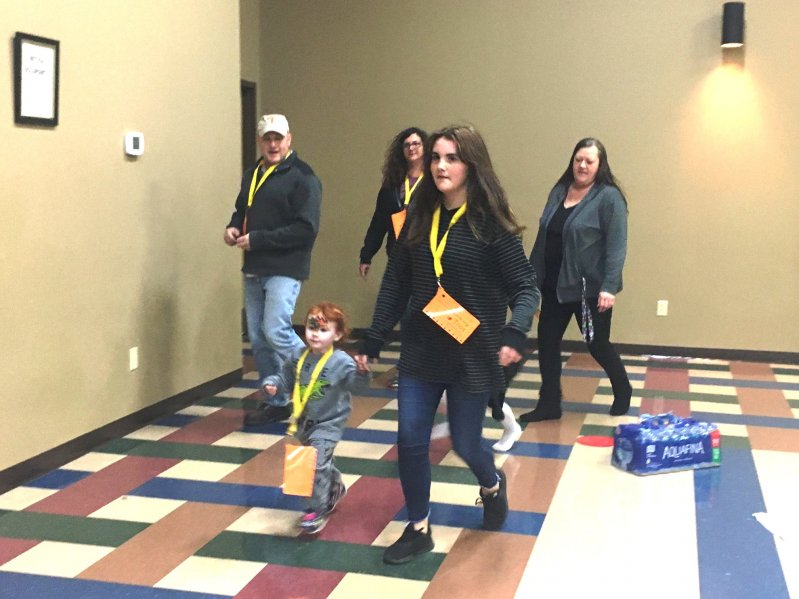 The 3rd Annual Turkey Trot Walkathon hosted by the DeKalb County Coordinated School Health Program was held Saturday at the county complex to benefit The Back Pack Program.