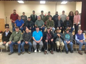 Local veterans honored during an annual tribute program Thursday at Smithville Elementary School